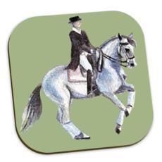 Dressage Horses Coasters