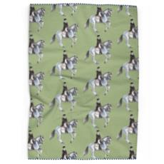 Dressage Horses Tea Towels